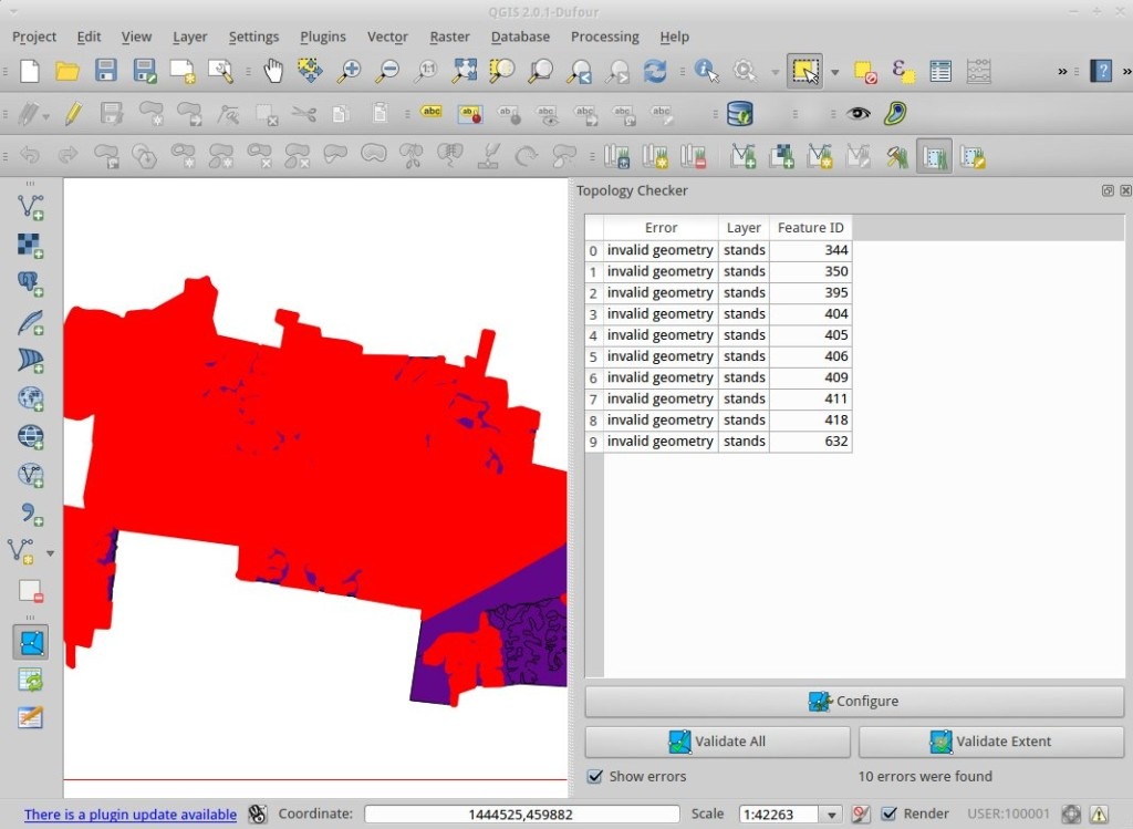 Invalid Geometry and QGIS • North River Geographic Systems Inc